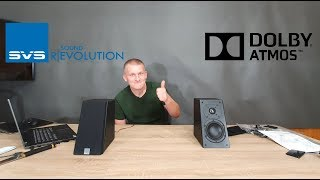 SVS Prime Elevation speaker for Dolby Atmos, DTS:X and Auro-3D