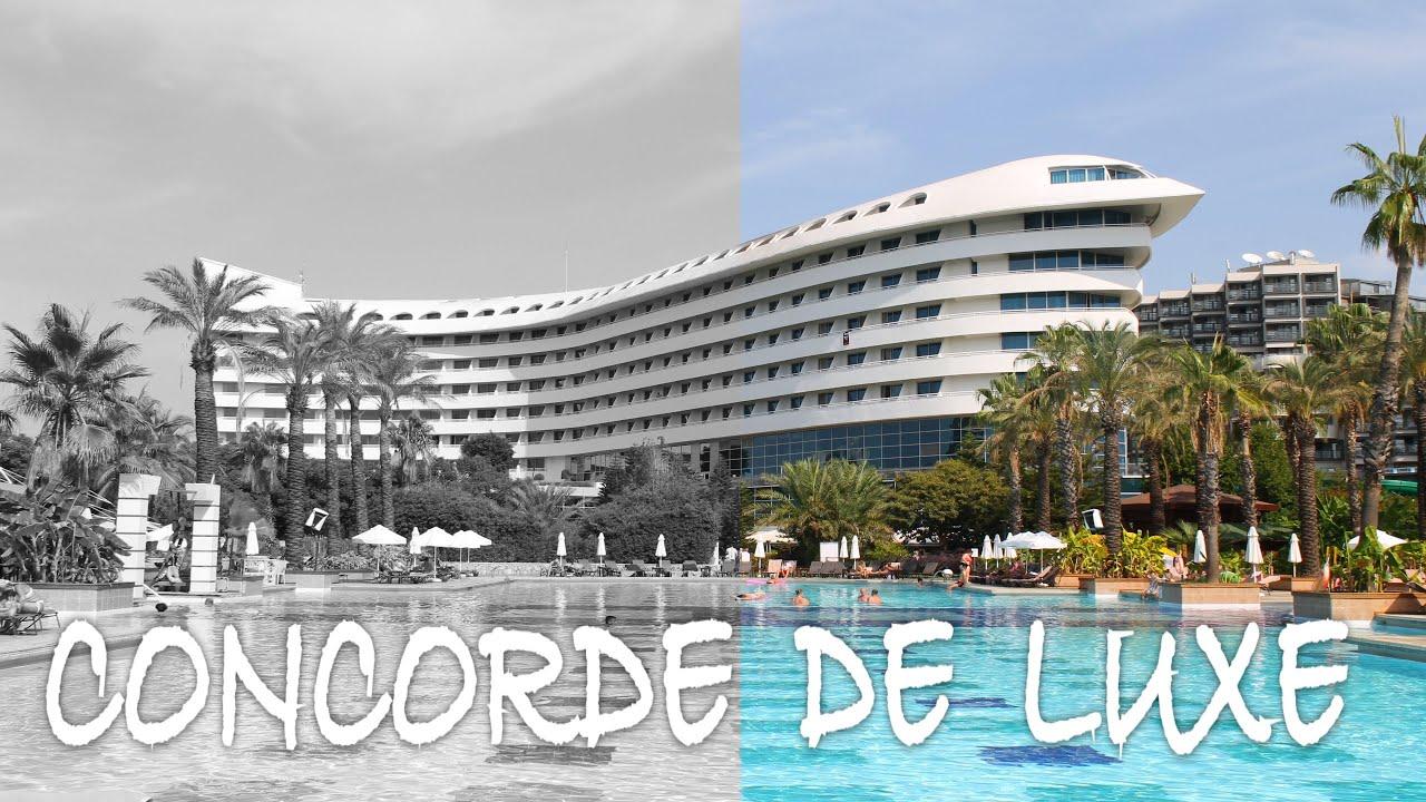 Concorde De Luxe Resort Erfahrungen