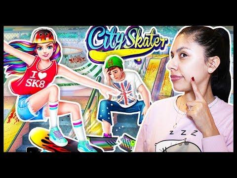 BOYS vs GIRLS! - CITY SKATER - RULE THE SKATE PARK! - App Game