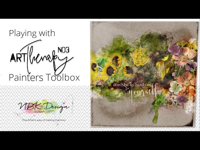 artTherapy No3 -Playing with the Painters-Toolbox by NBK-Design