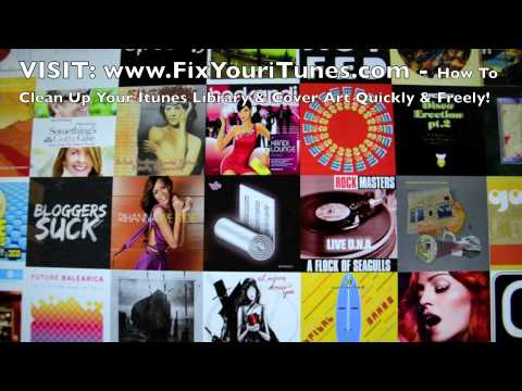 How To Clean Up Your Itunes Library & Cover Art Quickly & Freely!
