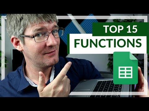 15 Functions In Google Sheets You NEED To Know!