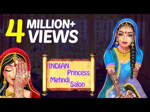 Indian Princess Mehndi Hand \u0026 Foot Spa Salon , Mehndi, Manicure Gameplay  Video By GameiMake