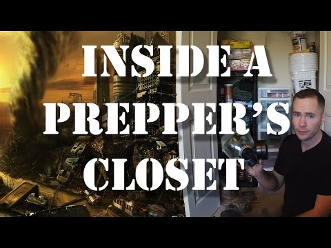 A Preppers Survival Gear, Bug Out Bag, Food Storage  and other Equipment