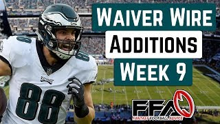 Top Waiver Wire Targets - Week 9 - 2019 Fantasy Football Advice