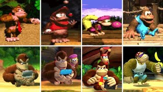 Evolution of Idle Animations in Donkey Kong Country Games (1994-2018)