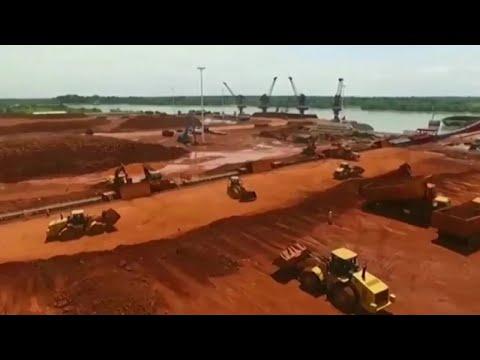 Guinée, HAUSSE DE LA PRODUCTION DE BAUXITE