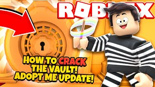 How to CRACK the VAULT in Adopt Me! NEW Adopt Me Pet Shop Update (Roblox)