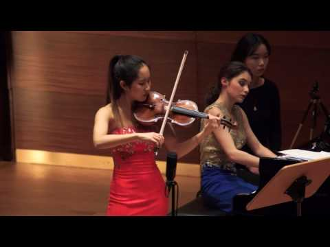 "Verena Chen (陈瑞玲) - Astor Piazzolla ""Night Club 1960"" (histoire du tango)"