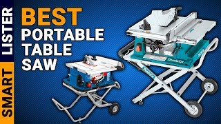 Top 7 Best Portable Table Saw (2019) - Reviews & Buying Guide