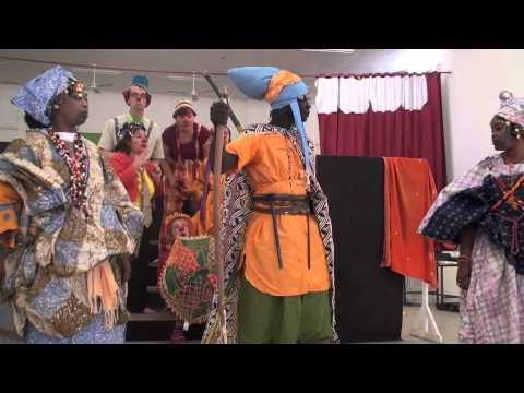 Les clowns et la culture sénégalaise (Dakar)