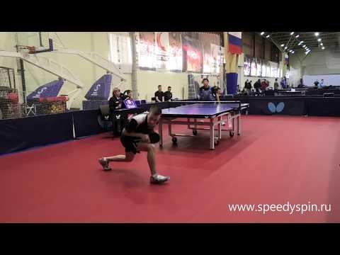 Pokatov-Tebenkov.Russian Junior Table Tennis Championship 2019. FHD.