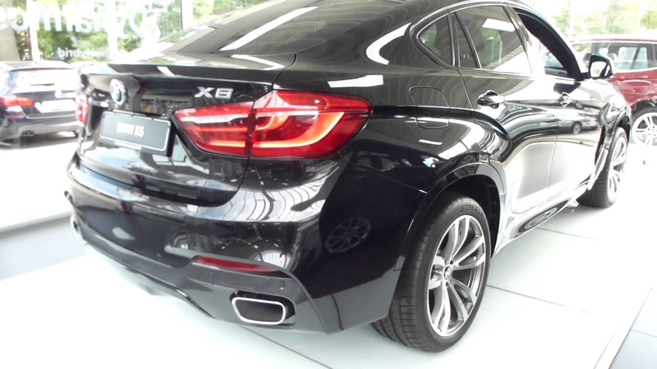 2016 Bmw X6 M Coupe Exterior Interior 3 0d 258 Hp 230 Km H 142