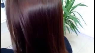 Из черного в шоколад   состояние волос спустя три месяца Челябинск Наталья Козицкая
