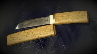 Making Tanto knife