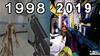 Evolution Of Half Life Games 1998 - 2019