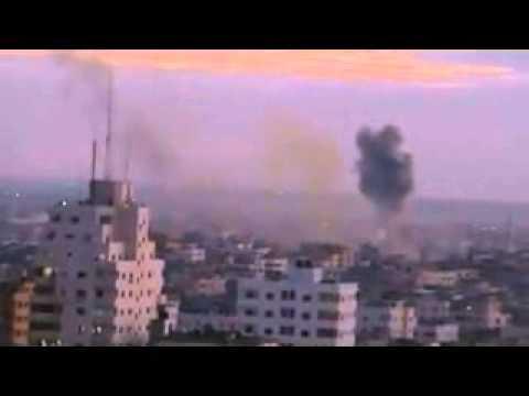Israel Attacks Gaza With Airstrikes.