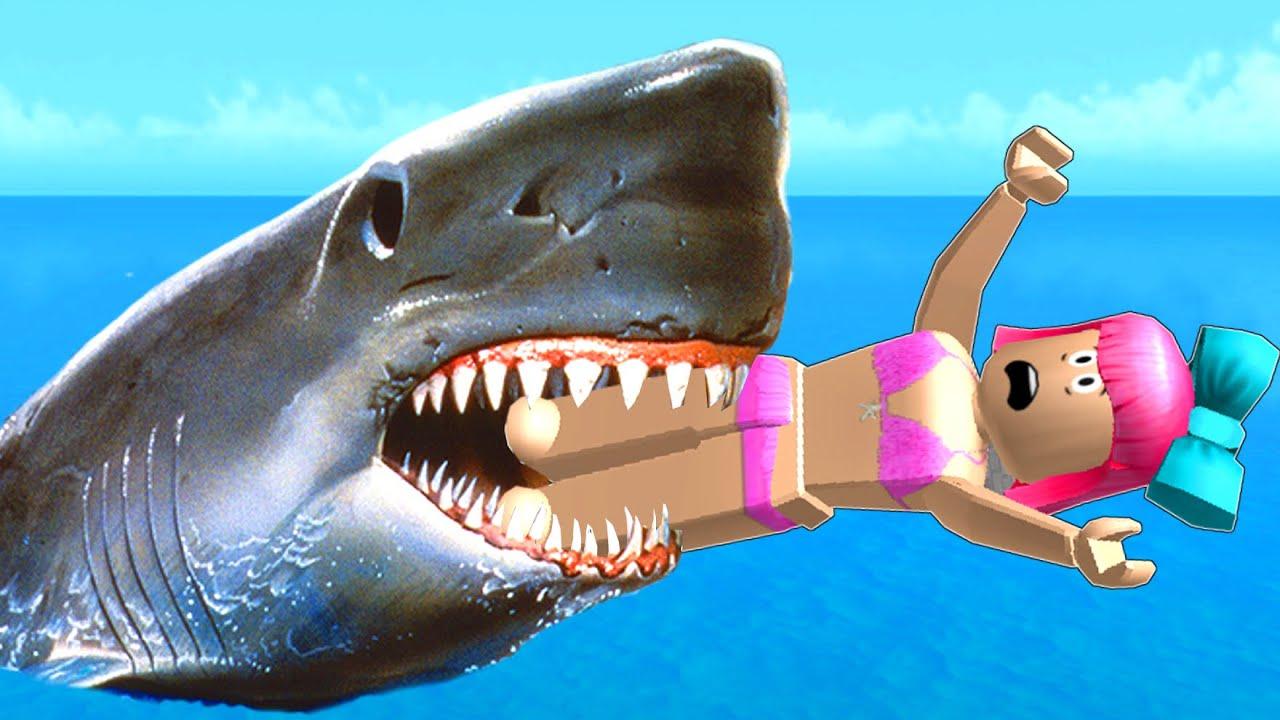 roblox-survive-the-shark-attack