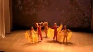 Обучение восточным танцам в Запорожье от 3 лет.Студия