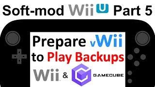 How to Soft-Mod WiiU - Pt 5 - vWii Modding: Homebrew Channel + Nintendont + USB Loader GX