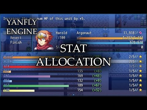 Stat Allocation (YEP) - Yanfly moe Wiki