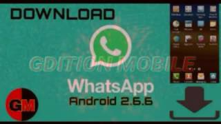 Download Whatsapp Para Android 2.3.6!