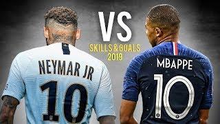 Kylian Mbappé vs Neymar Jr • Skills & Goals 2018/19