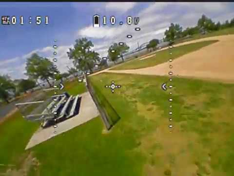 Фото Micro Drone FPV Freestyle at park -