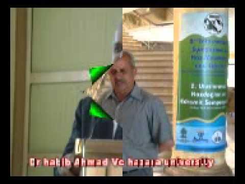Dr habib ahmad vc hazara university mansehra