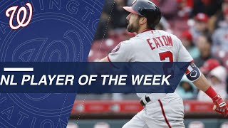 Adam Eaton wins NL Player of the Week