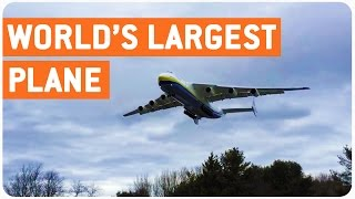 World's Largest Plane Comes In For Landing