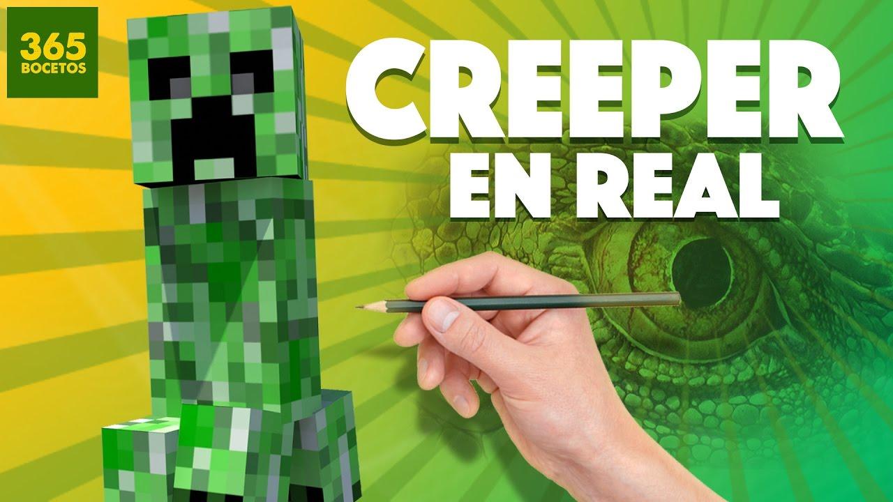 Como seria un creeper en la vida real real life minecraft for Videos de minecraft en la vida real