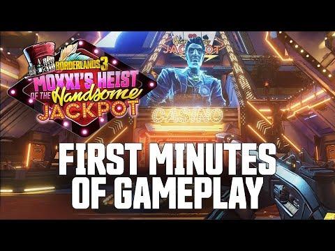 Borderlands 3 – Moxxi's Heist of the Handsome Jackpot Gameplay