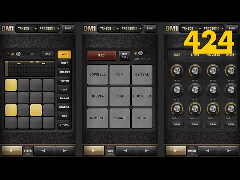 DM1 Drum Machine Tutorial #1: Steps, Pads, & Mixer | 424recording.com