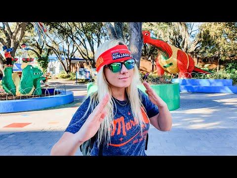 LEGOLAND Ninjago Days 2020! Candy Sushi, Rides, Shows + Cypress Gardens