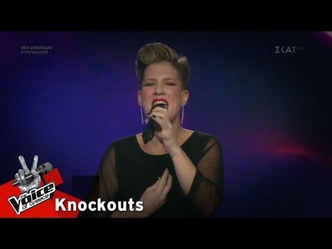 Δάφνη Γεωργαλή - Youkali | 3o Knockout | The Voice of Greece
