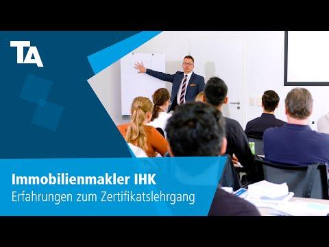 Immobilienmakler IHK – Erfahrungen Zum Zertifikatslehrgang