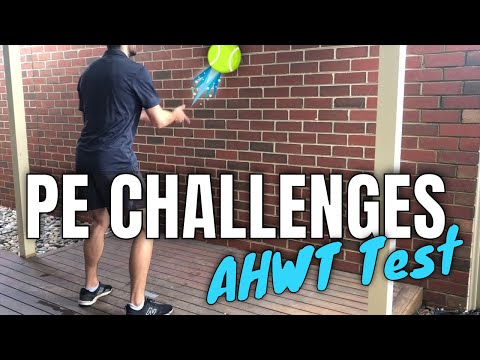 Alternate Hand Wall Toss Test - AHWT (Modified) | PE at Home