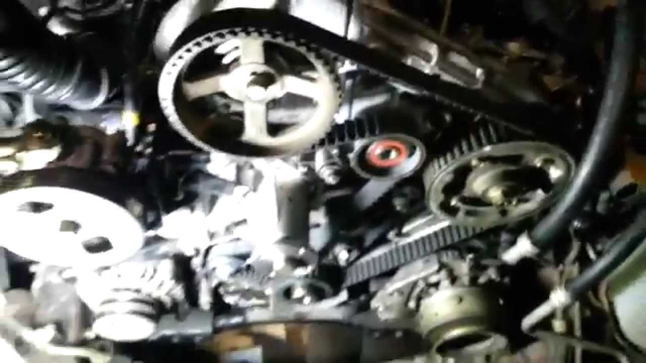 Correia de distribuição  Timing belt  Mitsubishi Pajero Sportwagon 25TD  YouTube