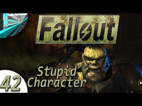 Let's Play Fallout 1 Stupid Character (part 42 - UGO BET IN WORL [Final])