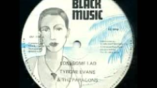 Tyrone Evans & Paragons + Carl Harvey - With You Girl + breezing 1982