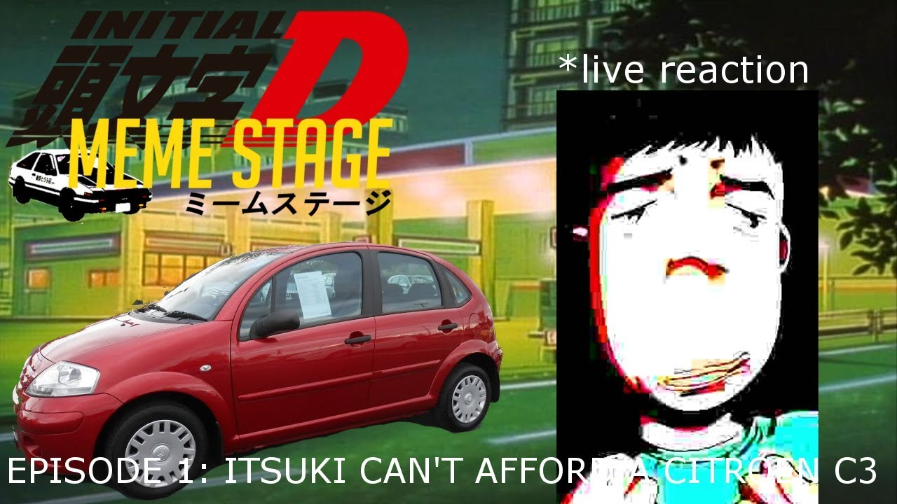 Initial D: Meme Stage   Ep 1 - Itsuki can't afford a ...