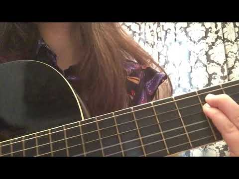 Юлия Гаврилина - Жу Жу (кавер на гитаре)
