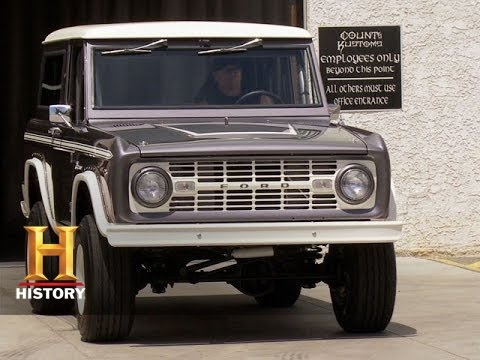 Pictures Of Ford Broncos - Counting Cars: Restored '67 Bronco | History
