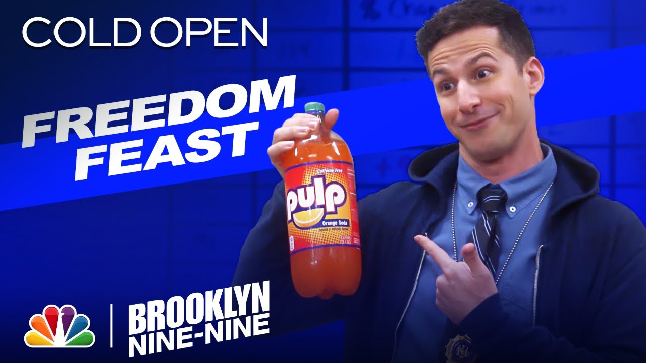 Cold Open: Jake's Out of Jail and Ready to Chow Down - Brooklyn Nine-Nine