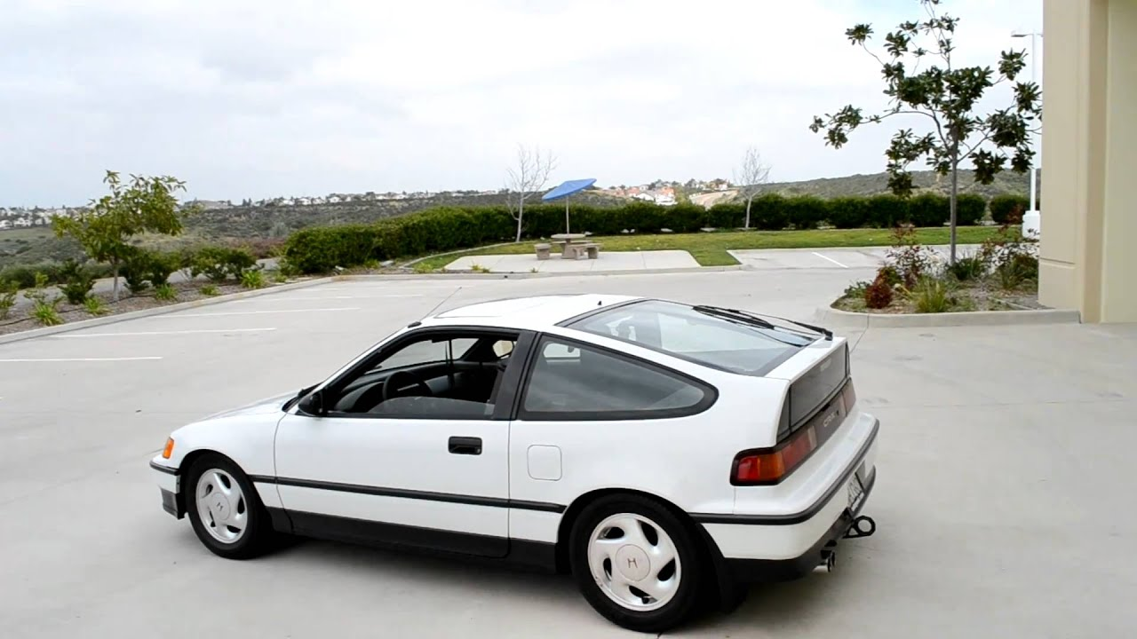 Charming 1991 Honda CRX Si Ver. II   YouTube