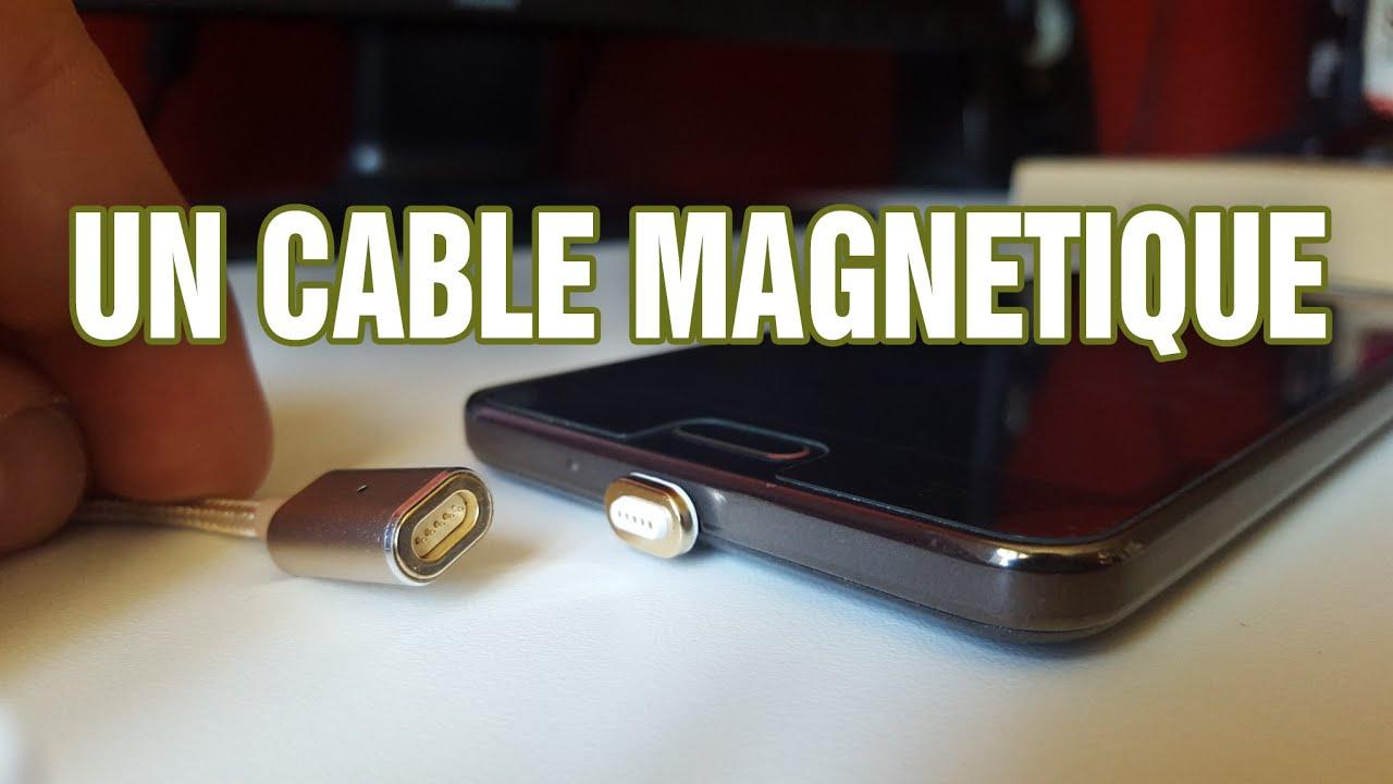 """Résultat de recherche d'images pour """"cable usb magnétique"""""""