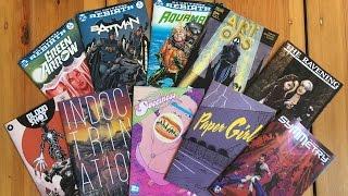 Comic Book Reviews 07-06-2016: Z2 Comics Feature, Batman #2, Paper Girls #7 & more