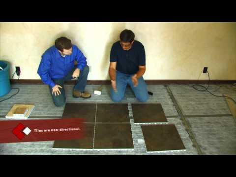 ardex x23 39 floating tiled floor system 39 doovi. Black Bedroom Furniture Sets. Home Design Ideas