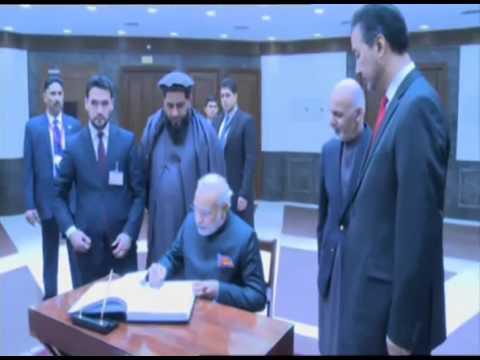 PM Modi inaugurates Parliament Building of Afghanistan
